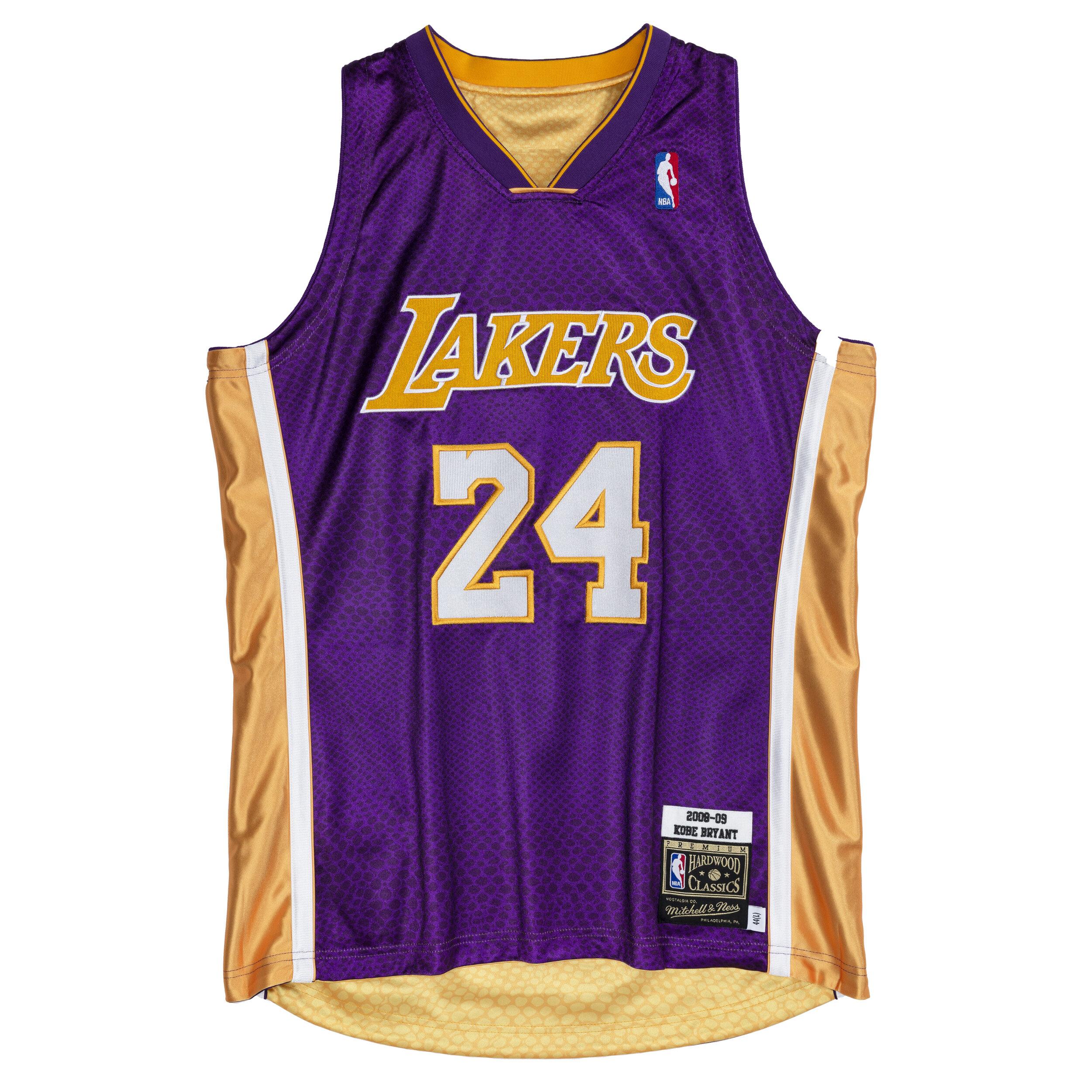 Mitchell & Ness Reversible Authentic Kobe Bryant Los Angeles ...