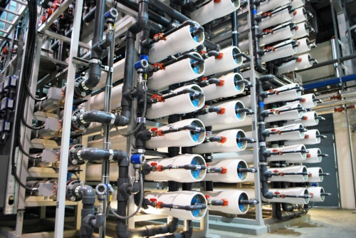 Integrated Biological Reverse Osmosis Membrane treatment system