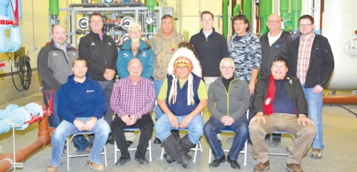 James Smith Cree Nation Integrated Biological Reverse Osmosis Membrane Treatment System Open House