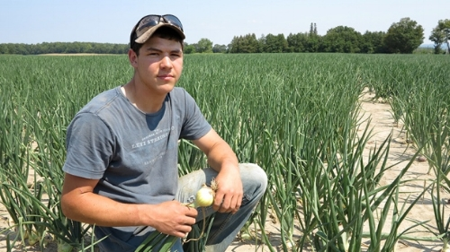 Young Canadian Farmer