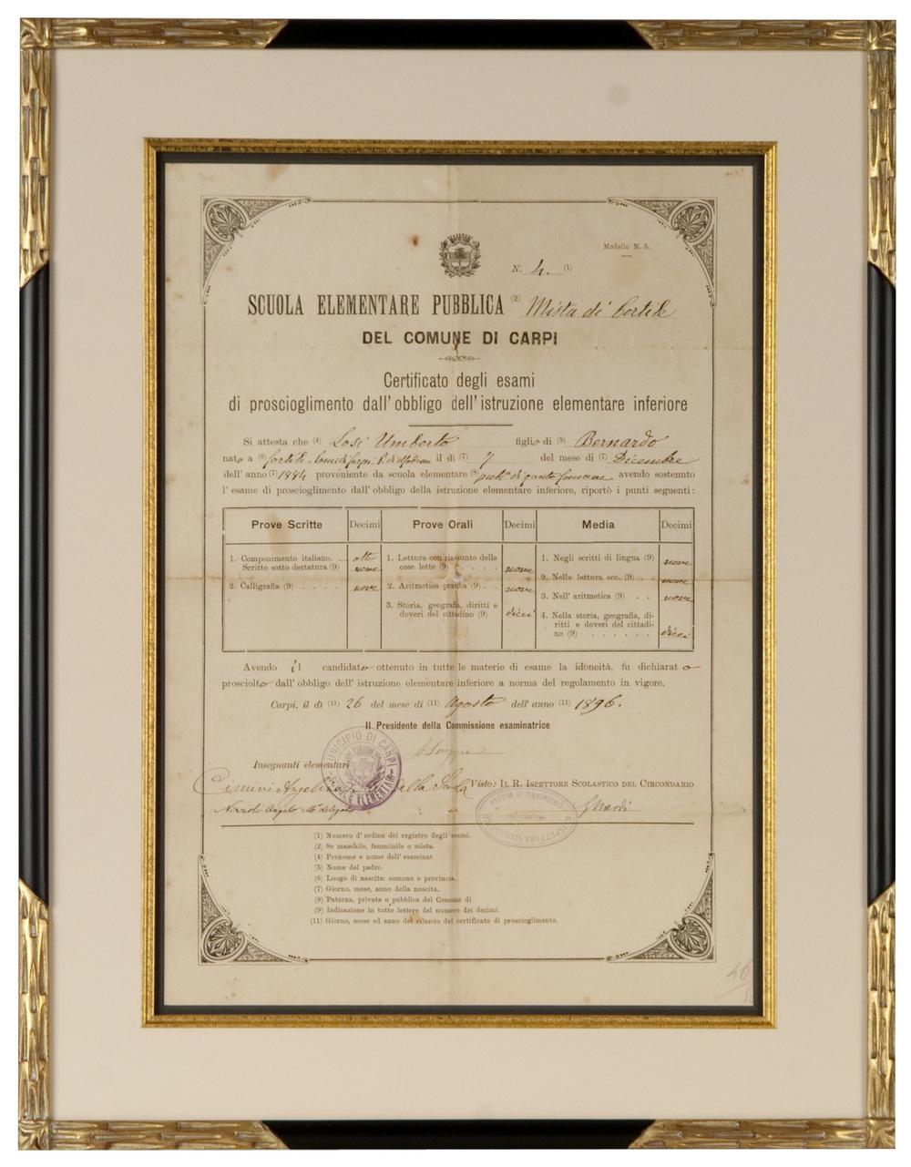 Vintage Marriage License