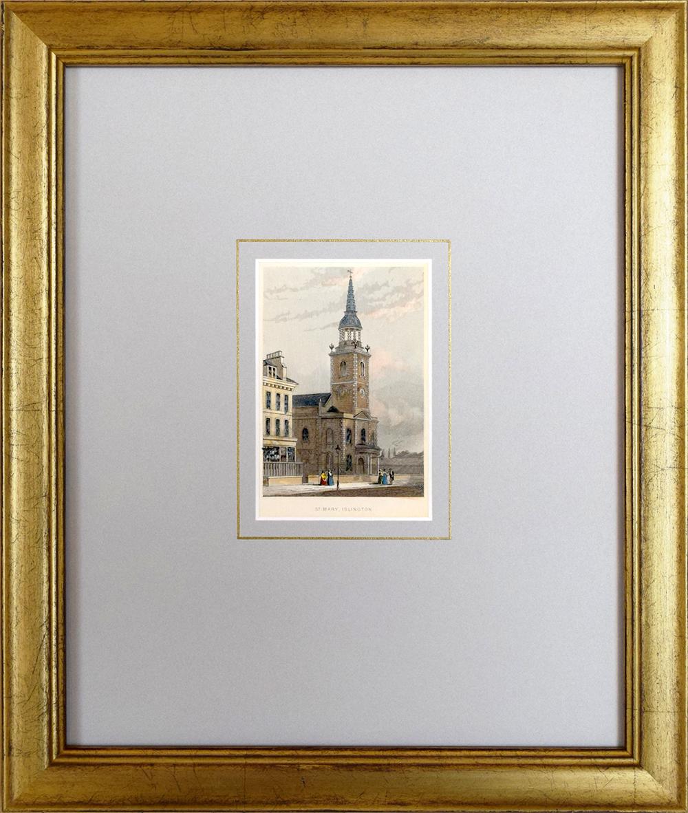 Re-Framed Vintage Photo & Mat