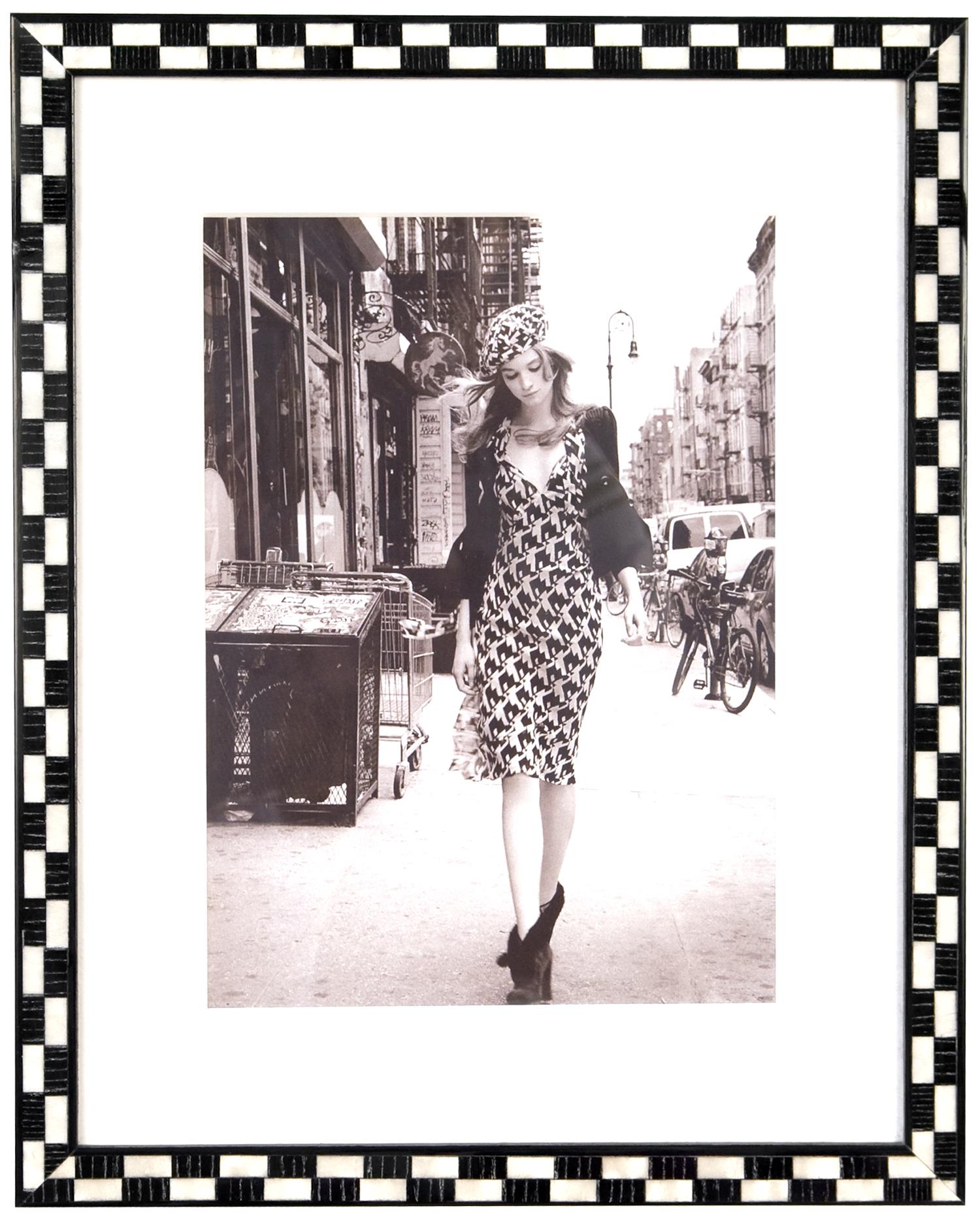 Jazzy Black and White Photo