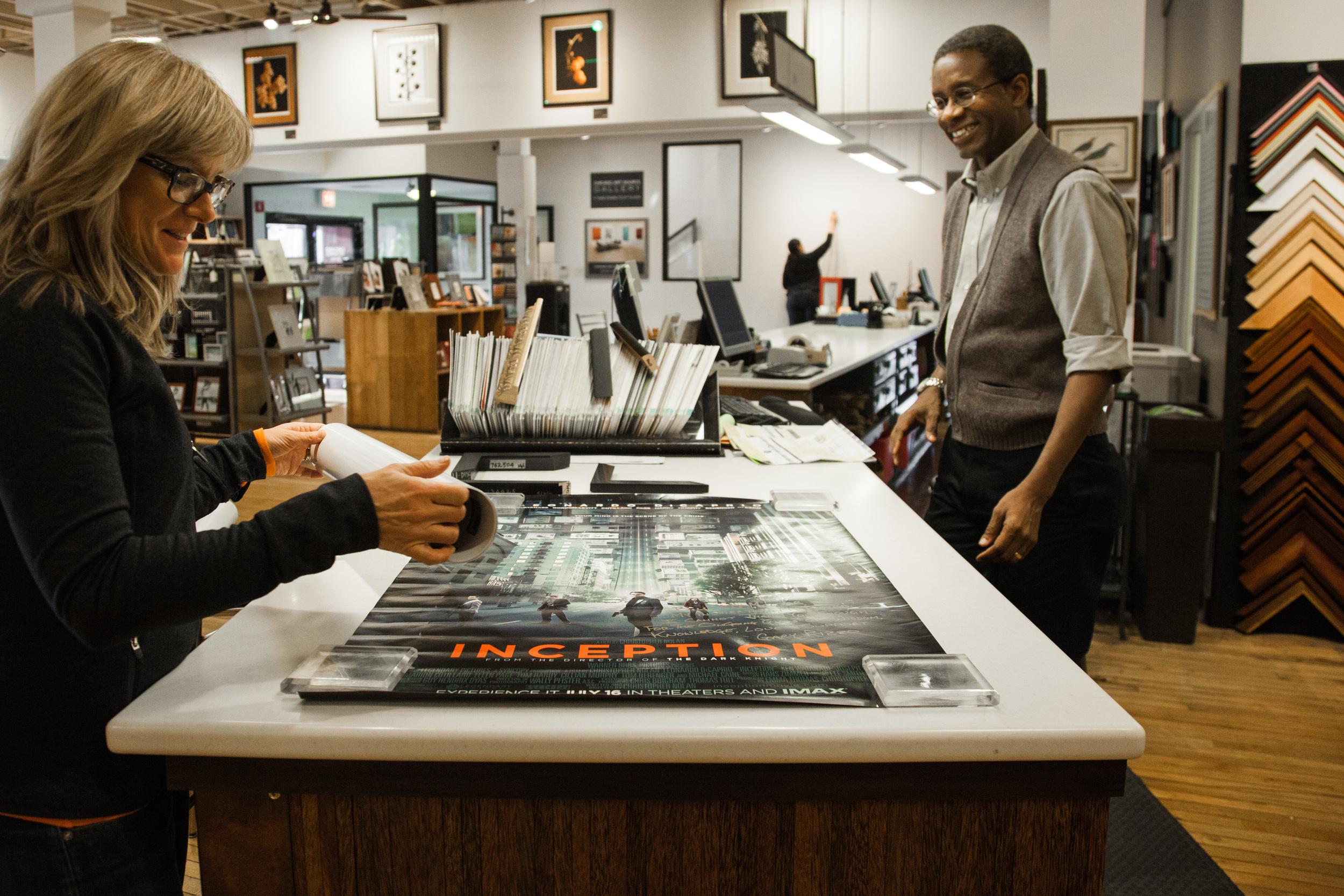 Artists Frame Service Showroom