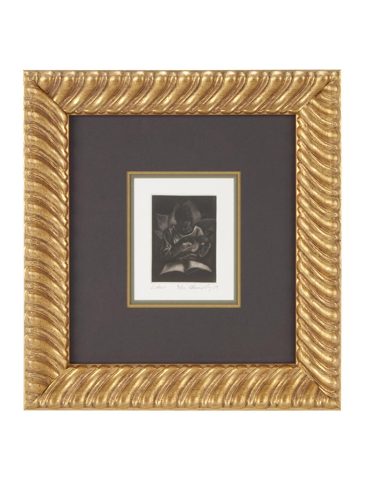 Gold Leaf Swirl Frame