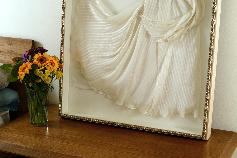Custom Framed Wedding Dress Chicago