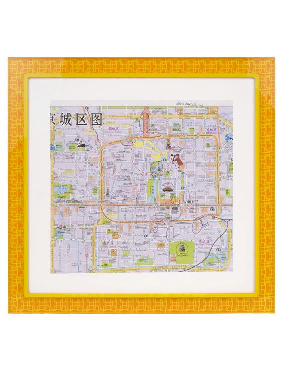 Map of Beijing