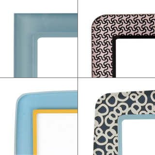 5.   Colors and patterns, patterns and colors.   Much like custom upholstery fabrics, you can mix and match colors and patterns to achieve your desired look. With 48 different colors and 21 patterns, there's no reason to stick to just one. In fact, some of our favorite designs have been a clever combination of multiple looks.