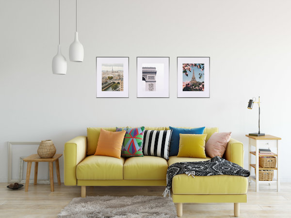 The Triptych  look is a classic for a reason. The symmetry works perfectly on walls large and small and can display similar, or wildly different, art and photos - depending on your preference. Ours are available in both 11x14 and 16x20 sizing, in a variety of finishes.