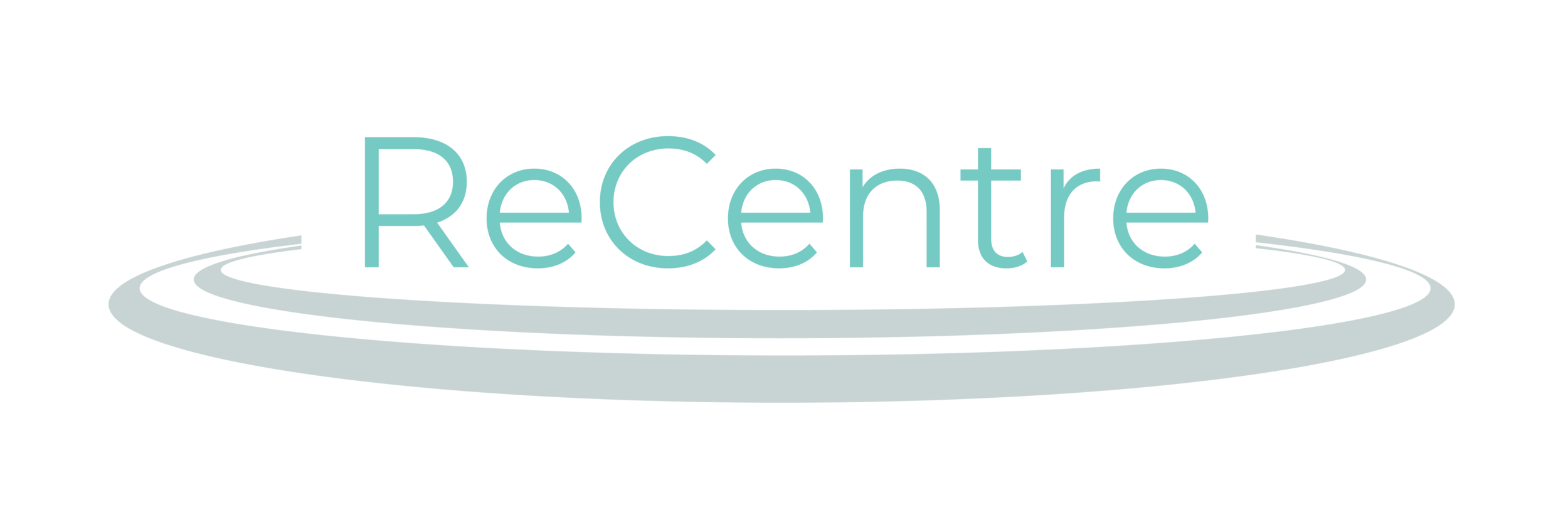 The ReCentre logo, designed by one of my group members.