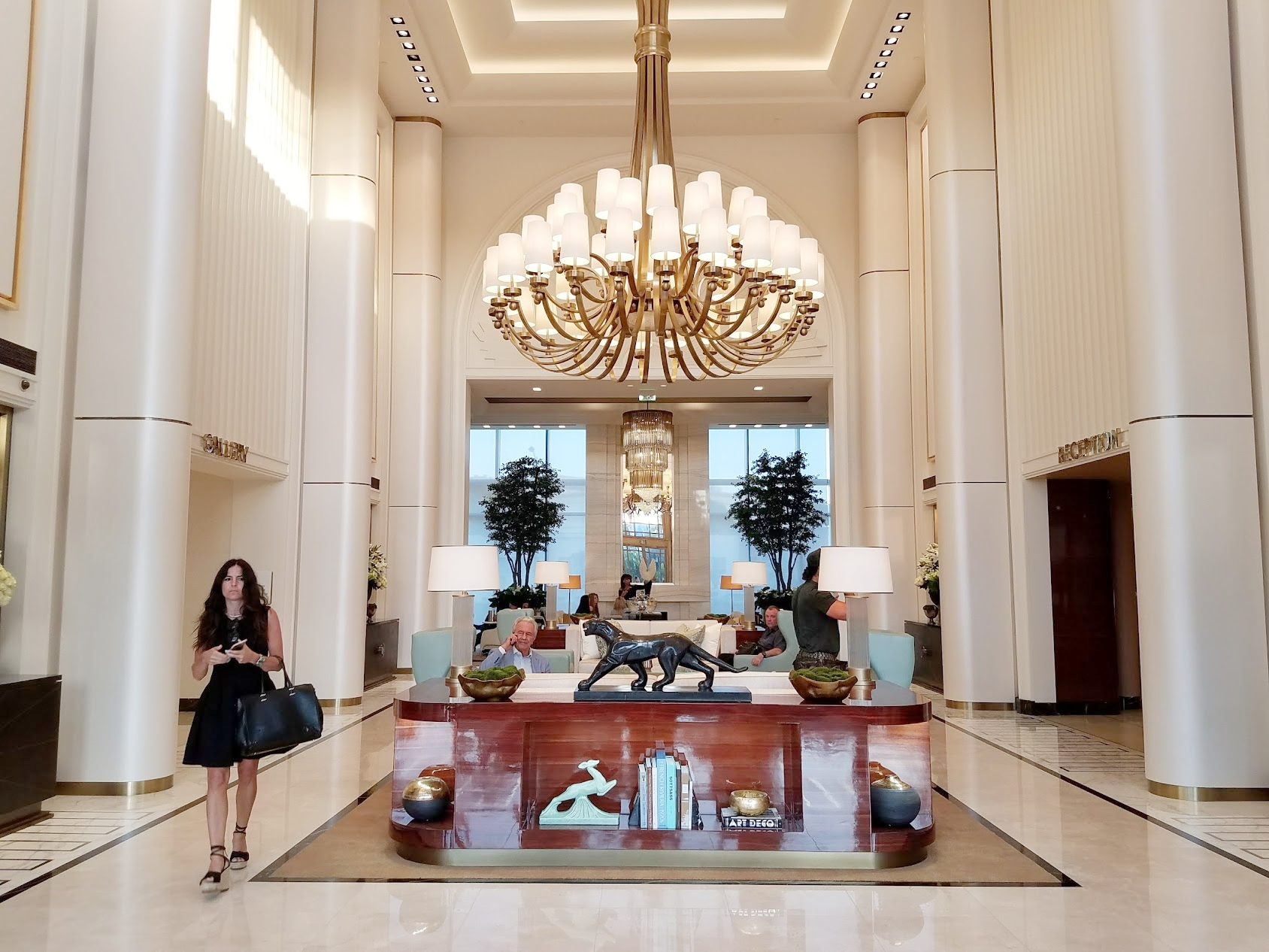 Waldorf Astoria Beverly Hills. You know you want this. Stephanie (pictured) is living the good life.