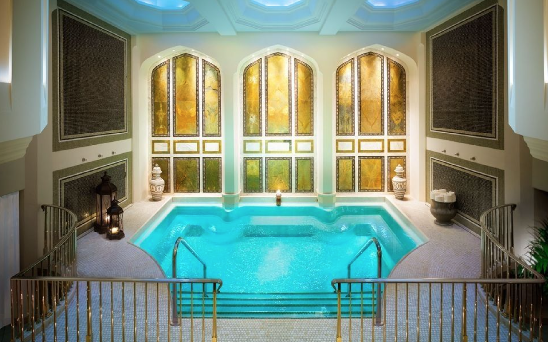 The spa at Montage Beverly Hills.