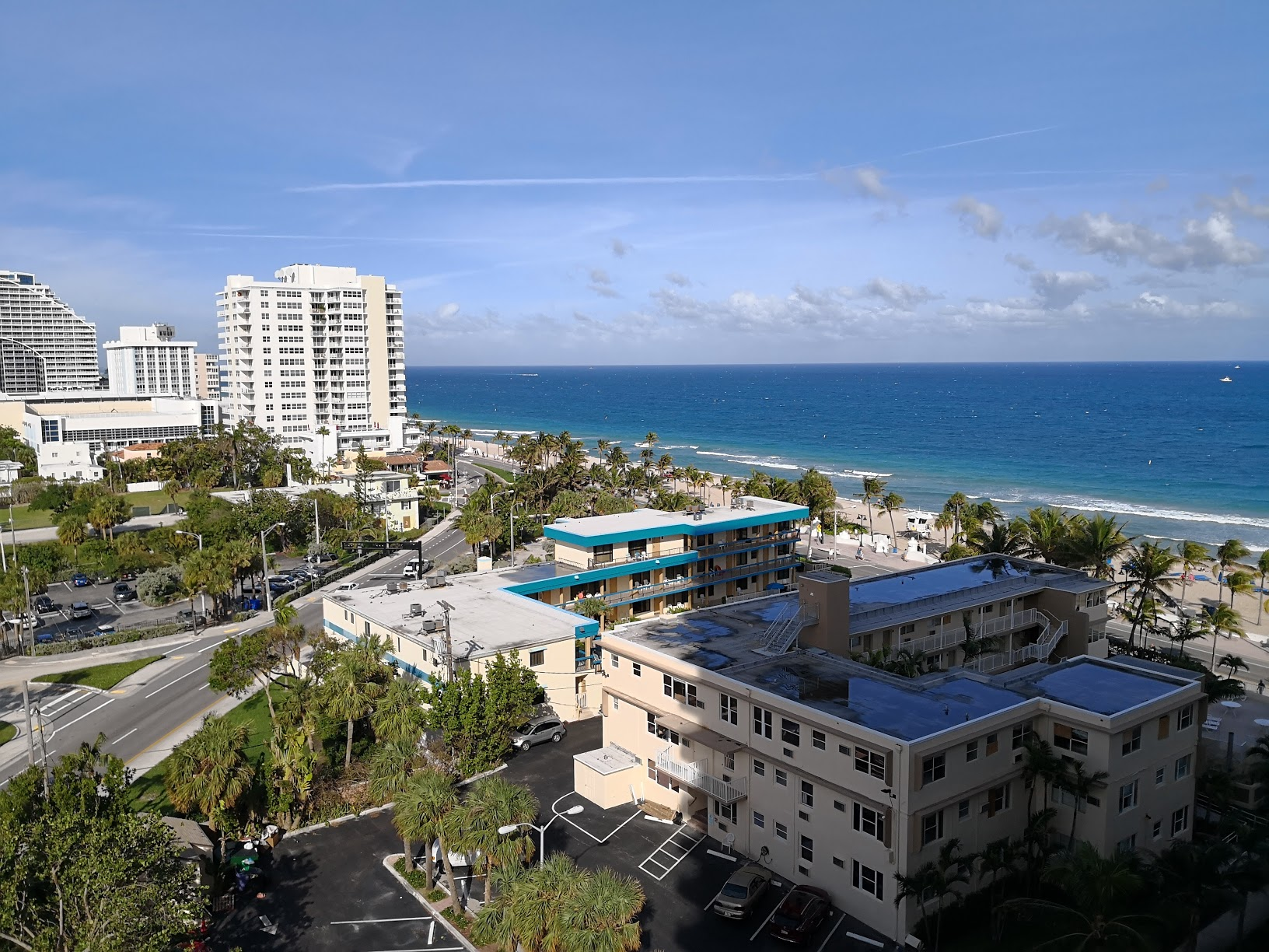 The view from my room at Ritz Carlton Fort Lauderdale!