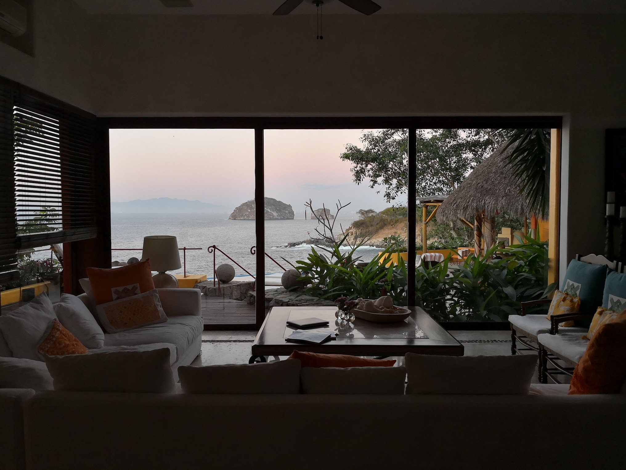 Look at the view from our main living room.