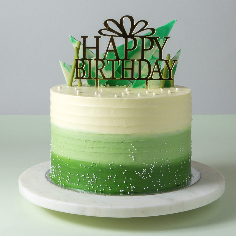 "8"" Green Tea Chiffon Cake"