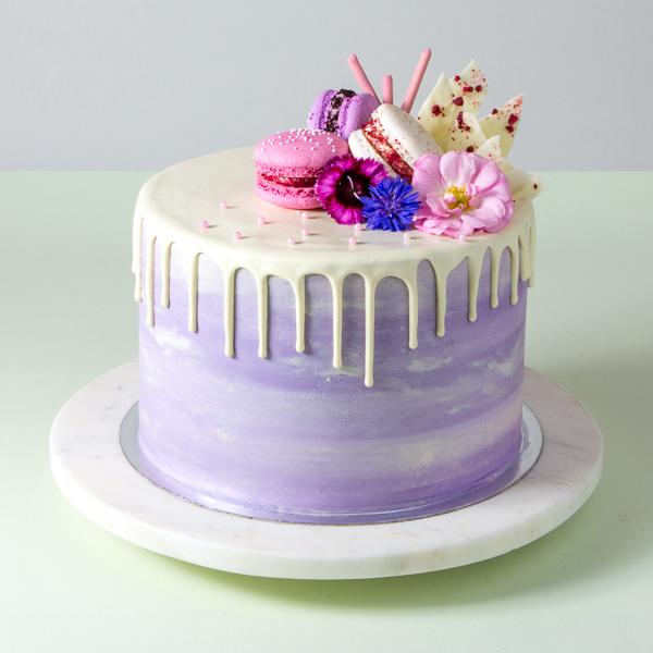 Watercolour Cakes -