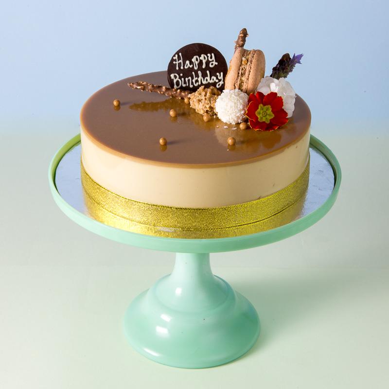 Hazelnut Praline Mousse Cake