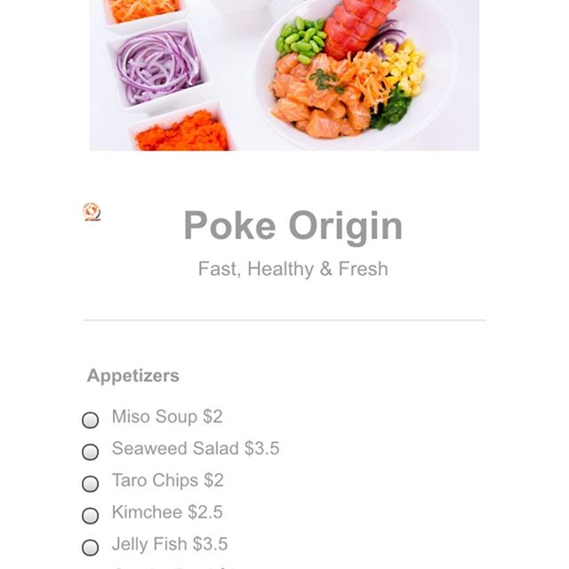 Not just that  We also activated our in-store pickup from our website @thepokeorigin.com Its not a third party app we make the fresh poke and handle all the problems and issues in-store with our awesome staffs  Seamless & Wait-free No more waiting in-line Food ready when first walk in to the store Beat delivery fee and customer support, wrong orders etc  Try it out at https://www.thepokeorigin.com/instore-pickup-2/  #pokebowl #poke #online #orders #order #onlineorder #noline #no waiting #sunset #irving #sf #san francisco #fast #quick #easy #seamless #wait free