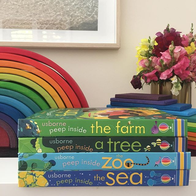 Our favourite books 📚 SWIPE 👈🏻TO SEE!! We read books every day...they are in each of the kids bedrooms and playrooms...they get carried into the garden and thrown in the bath (not my fave but it has happened before 🤦🏼♀️) if you would like any info on the books in the photos please ask 💕 we get all of our books from Kmart or online at The Book Depositry. I have also recently been hunting in op shops for big picture books or encyclopaedias. I've found the kids LOVE reference books with pictures as they are hungry to learn all about nature and the world! Lift the flap books were good for under 2yrs and rhyming stories are always a favourite-Eve especially loves to memorise these! Above all though we adore our story book Bible, I've written about it a lot recently but hands down it's one of the best. ✨ I'll always ask Eve if she wants to choose a story from that throughout the day and we'll cuddle up and read together...talking about each story and she now remembers a lot more due to the audio version being on repeat lately 🤣 I think nearly all of our children's books are by USBORNE Publishers 🙌🏻 I absolutely loved reading growing up and want all of my kids to know the enjoyment of a good book and being able to research/explore knowledge this way-in the age of screens reading is a real gift ✨