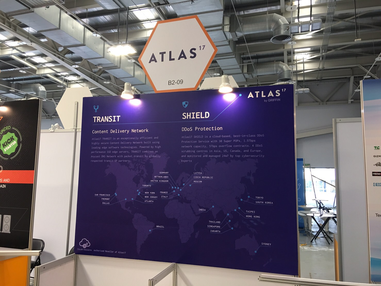 I designed the ATLAS17 poster for the 'Future E-commerce 2017' exhibition which was held in the Taipei Nangang Exhibition Center.