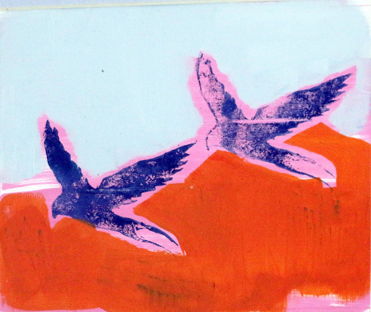 Leigh Sinclair Untitled  Acrylic, Ink £70