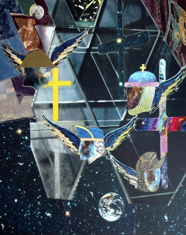 David Slade  We Are Stardust   Collage £90