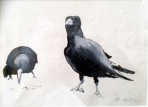 5 peter rossiter two crows.JPG