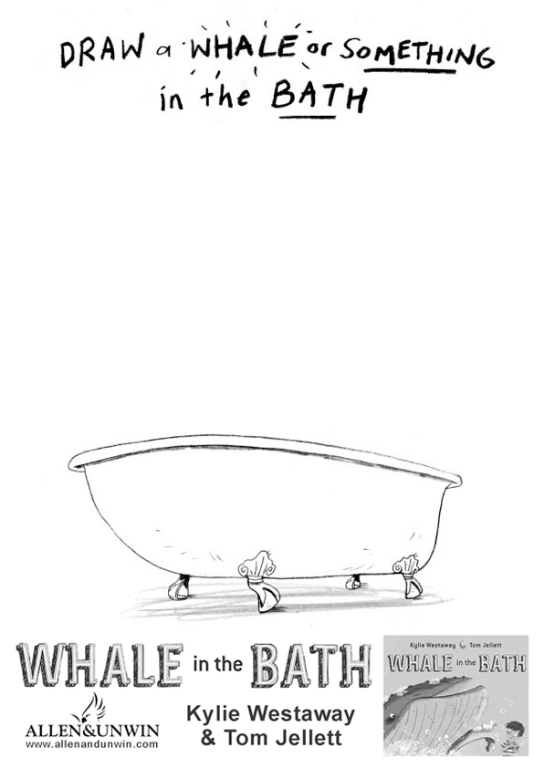 Draw something in the bath