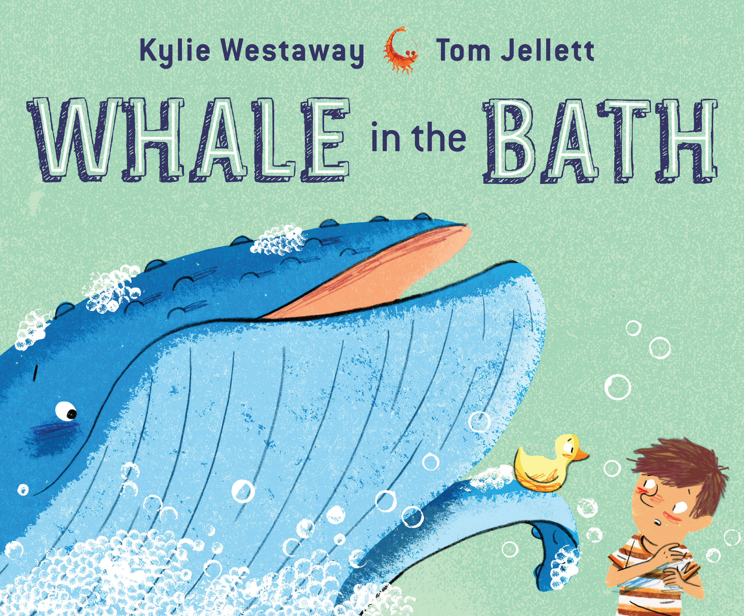 Whale in the bath cover