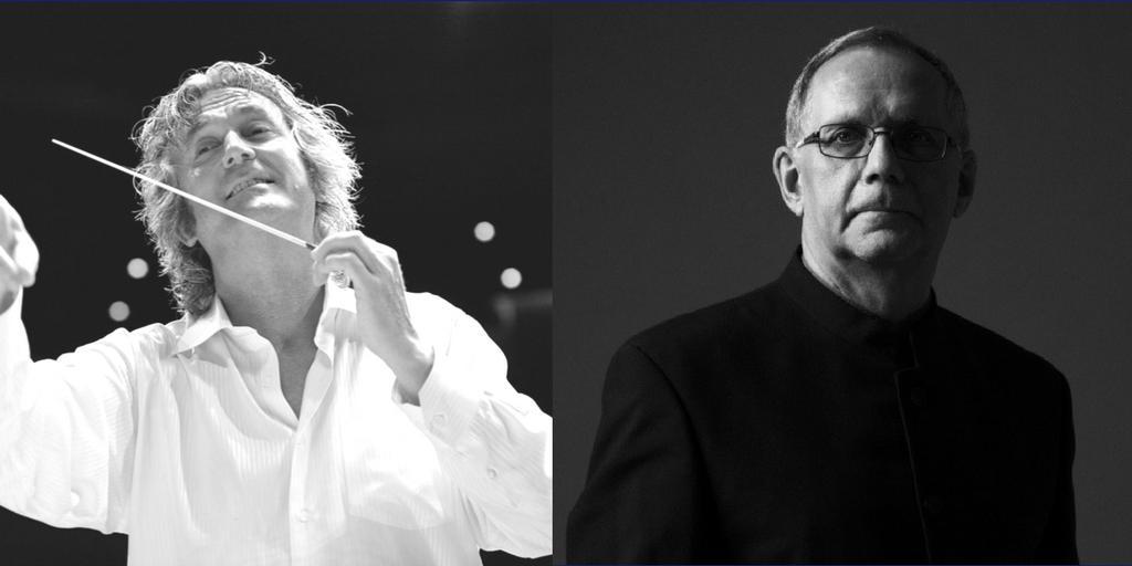 Our Patrons: Johan de Meij and Philip Sparke
