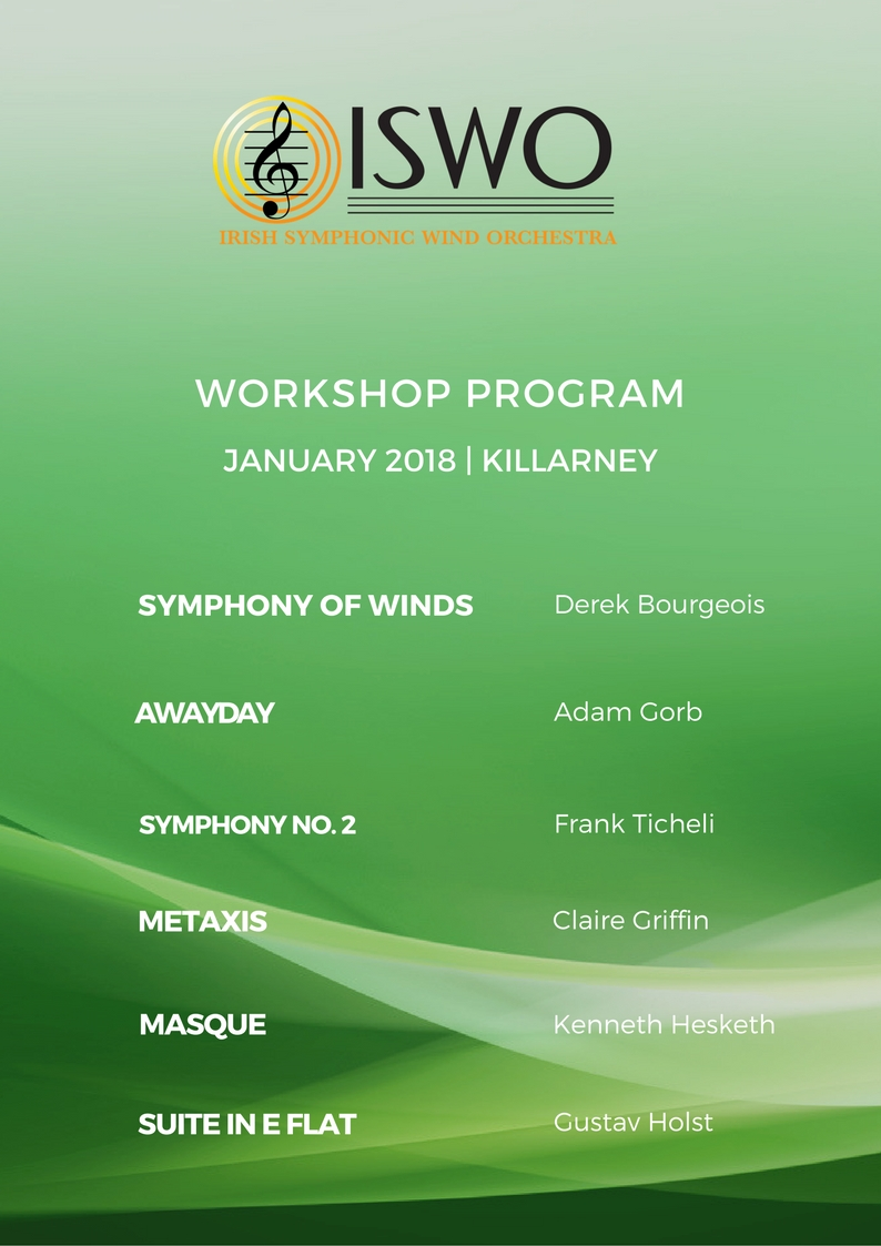 January 2018 Workshop Programme