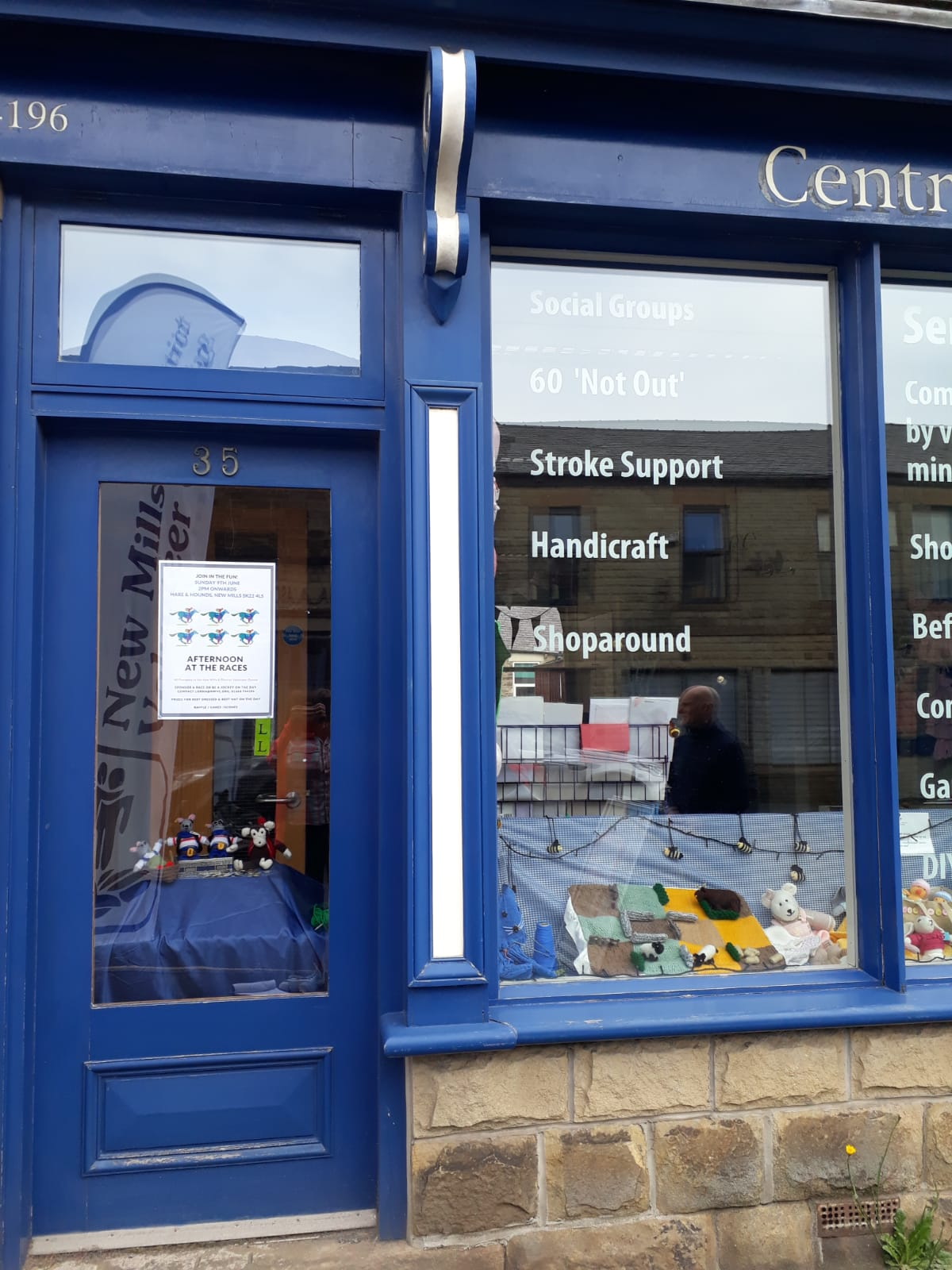 37. New Mills & District Volunteer Centre