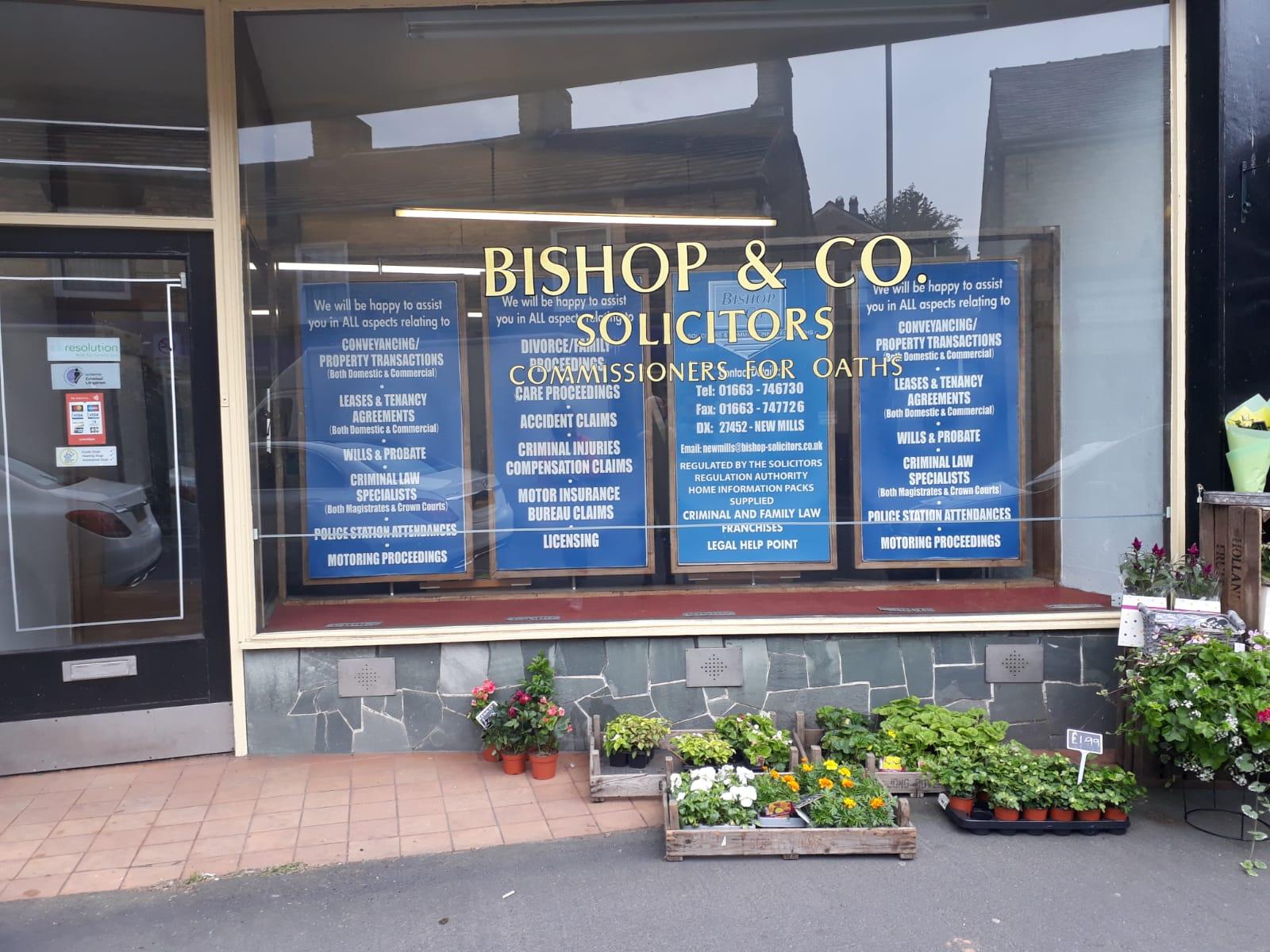 27. Bishop & Co.