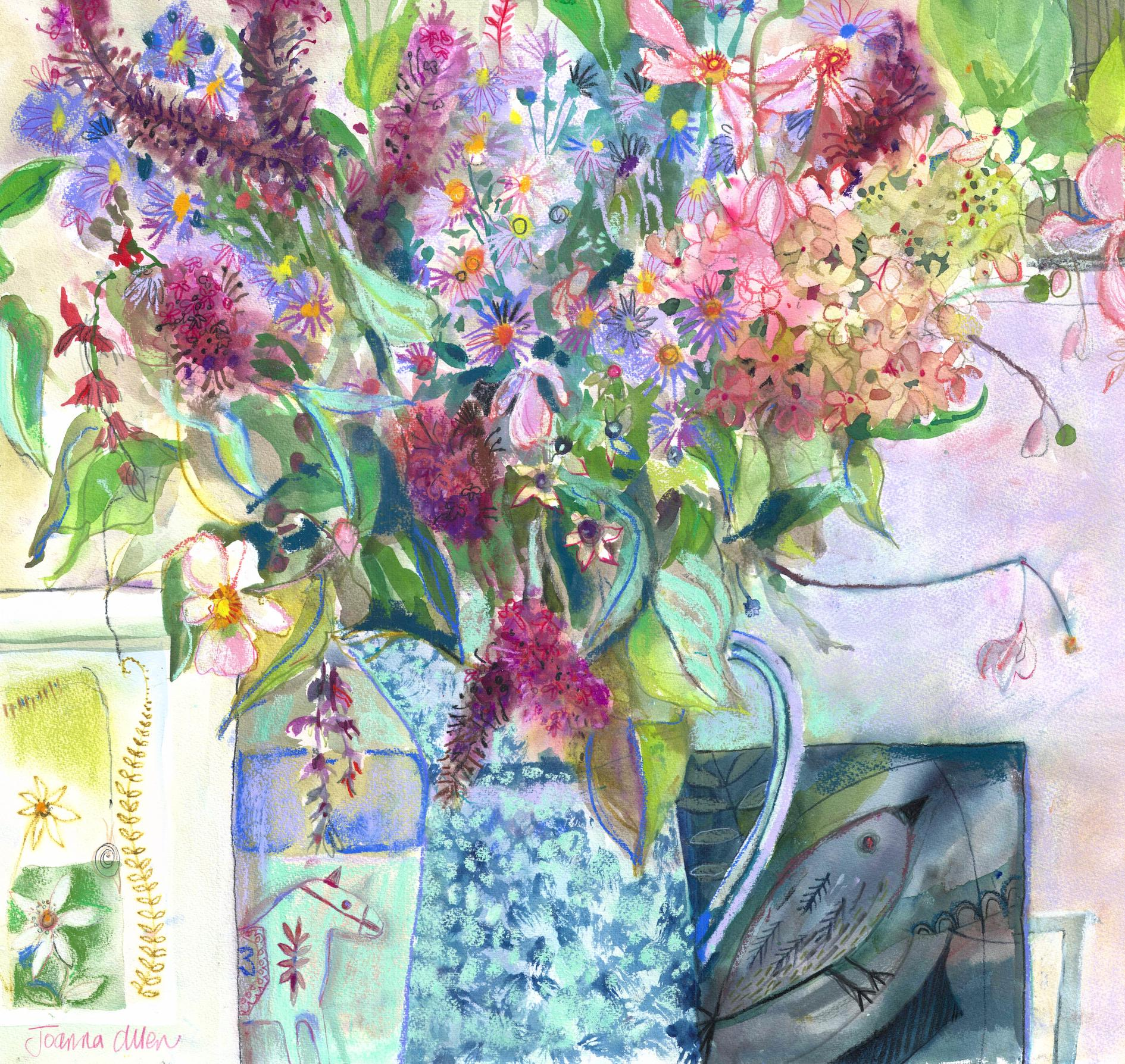 Allen_Joanna HEDGEBIRD BOUQUET mixed media 80 x 90 cms_06.jpg