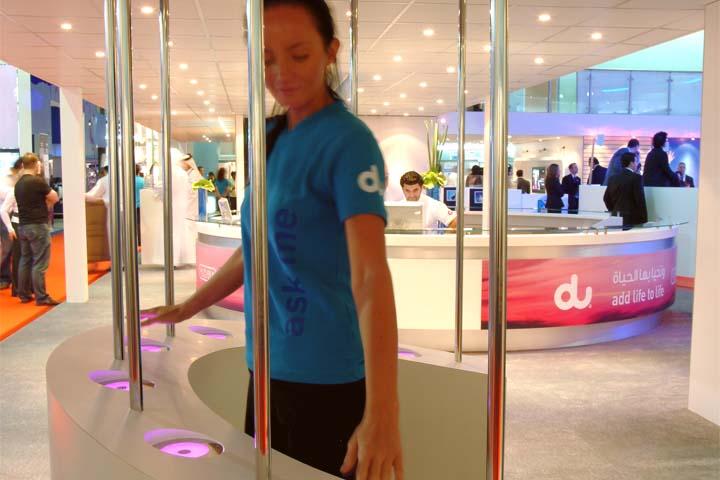 Interactive Centerpieces for Exhibition