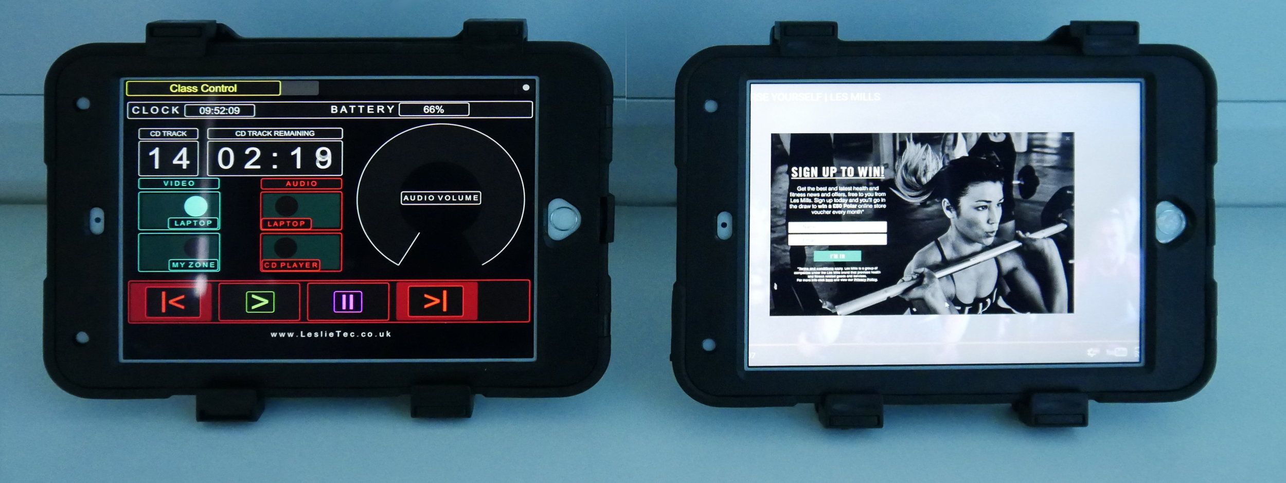 Bespoke Control Interfaces Software development for Tablet and Mobile Devices