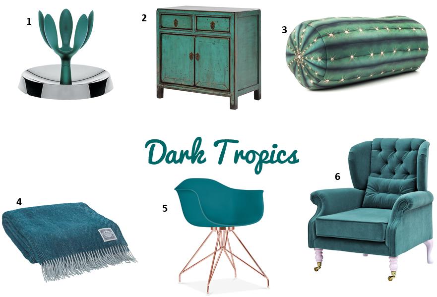 Dark tropics / Teal Marrs Green