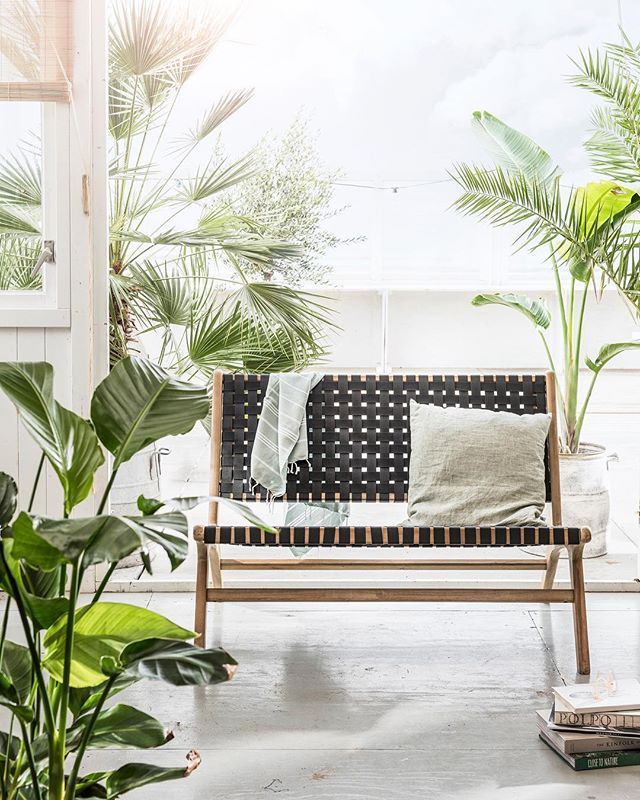 Who is excited for summer? @cuckoolandcom have a range of garden products like this stunning Frame Woven Garden Bench by Woood 😍  #summer #garden #outdoor #gardenpr #gardenideas #pragency #gardenpress #outdooraccessories