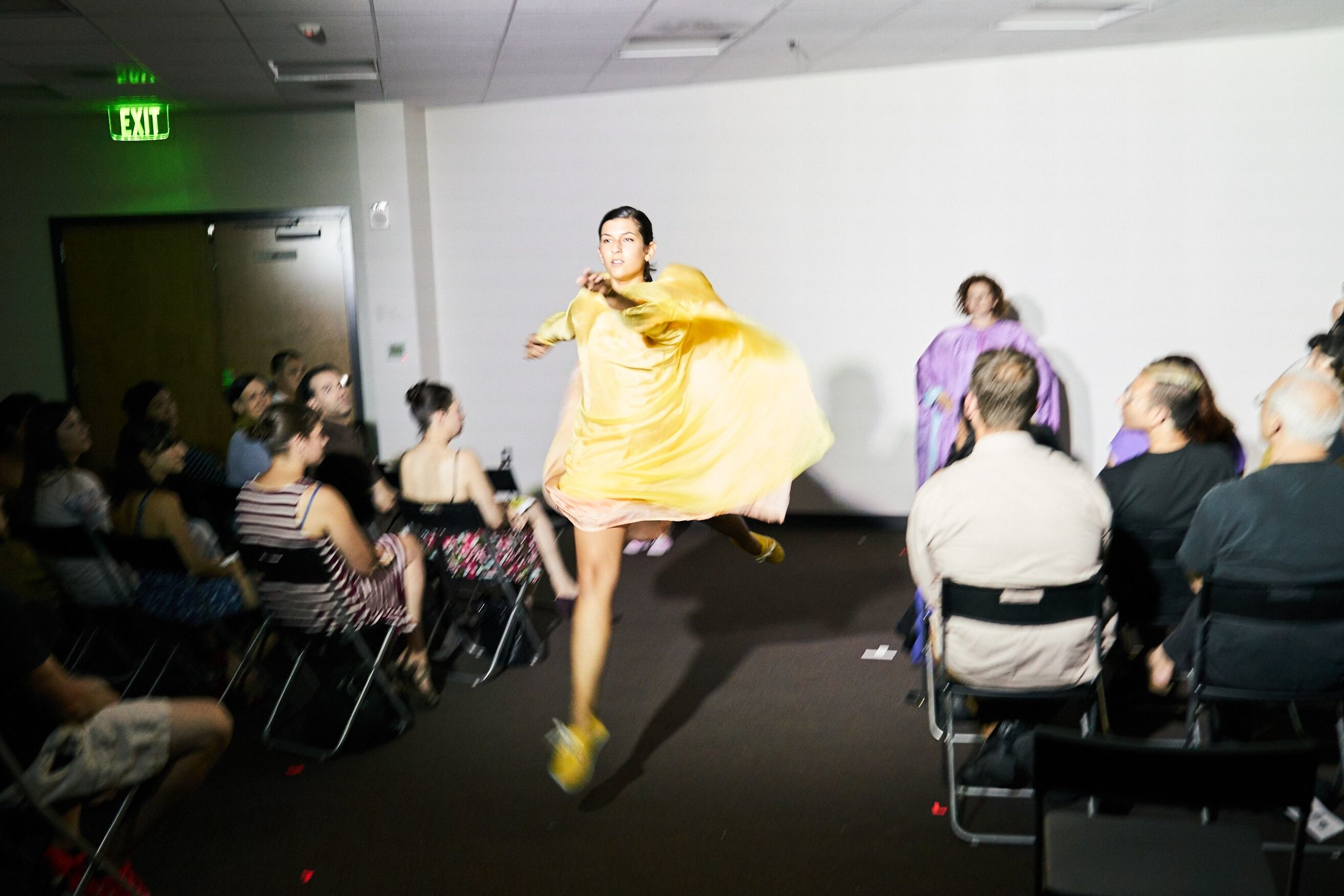 i create costumes that adorn, augment, and allow for the body in motion -