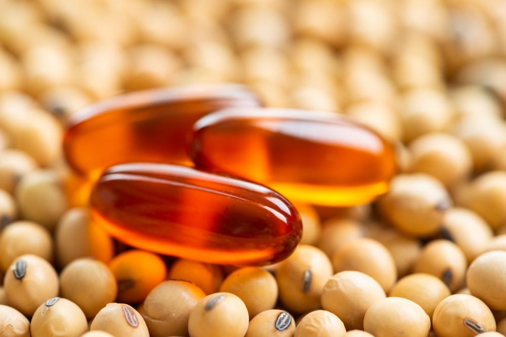 Soijalesitiiniä käytetään yleisesti ravintolisäkapseleiden emulgointiaineena.