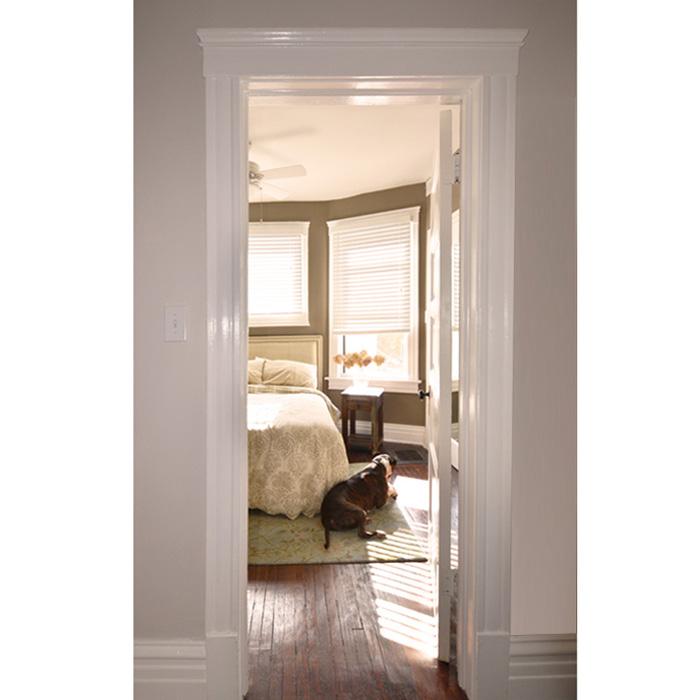 view of guest bedroom