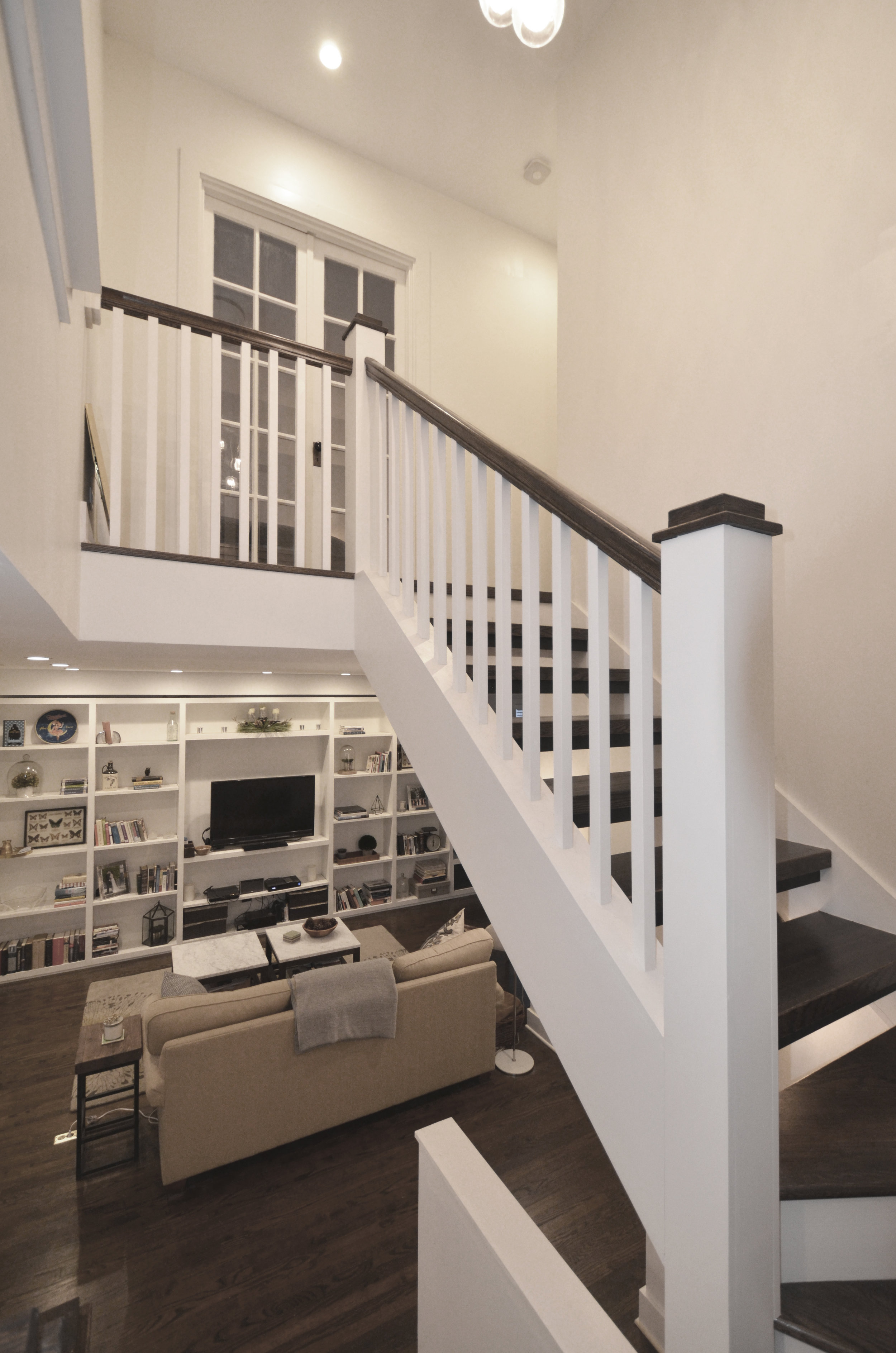 view of stair