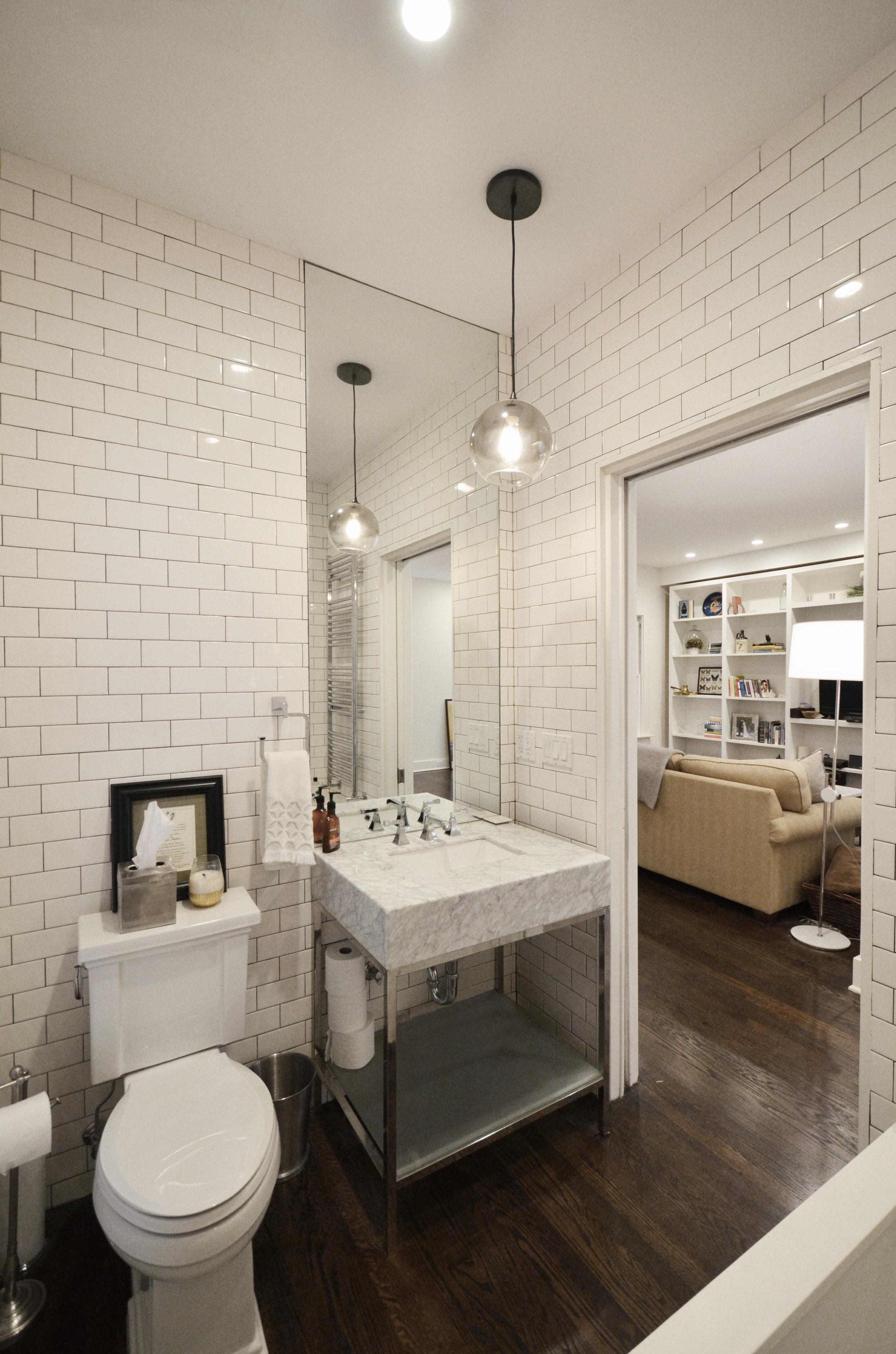 view of guest bath