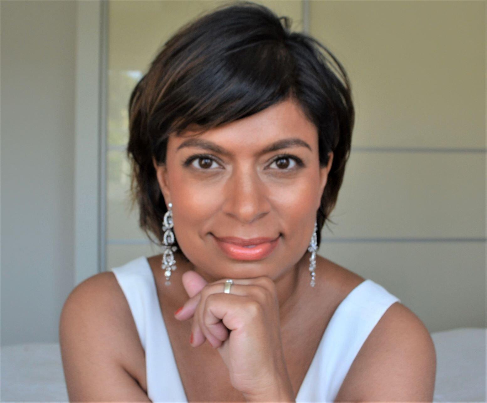 Afreen age 45 (same earrings!)