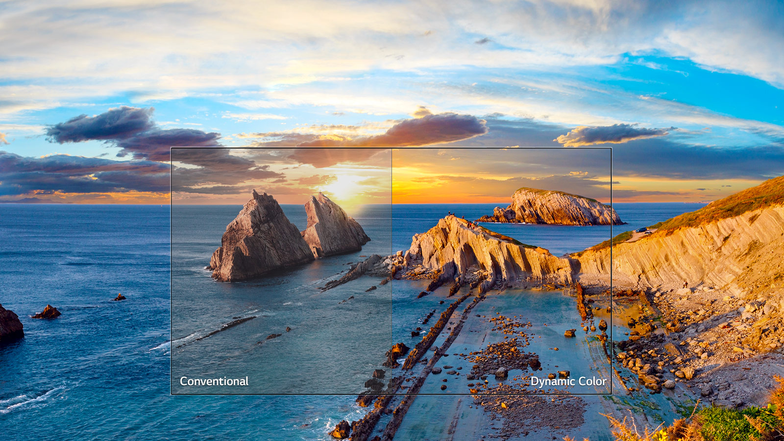 Dynamic Colour Enhancer - Drive a dynamic picture. Advanced image processing enhances the colour, contrast and clarity of what you are watching. Reach higher levels of picture quality with a dynamic and amazing image.