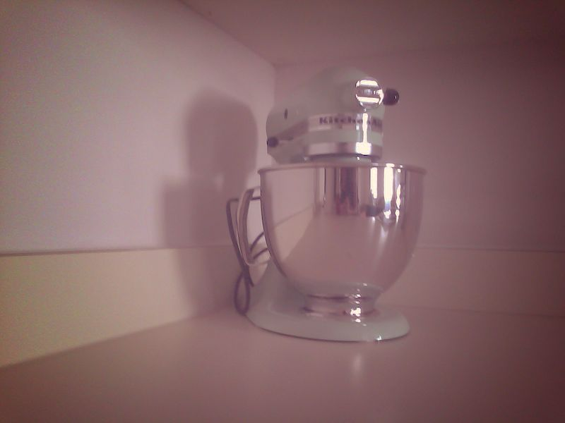 pistachio kitchen aid mixer