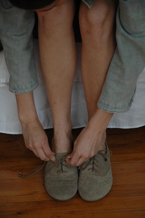 oxford shoes tan