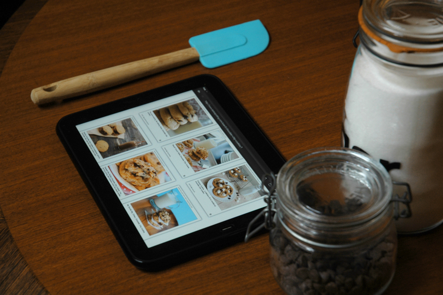 cooking with the hp touchpad