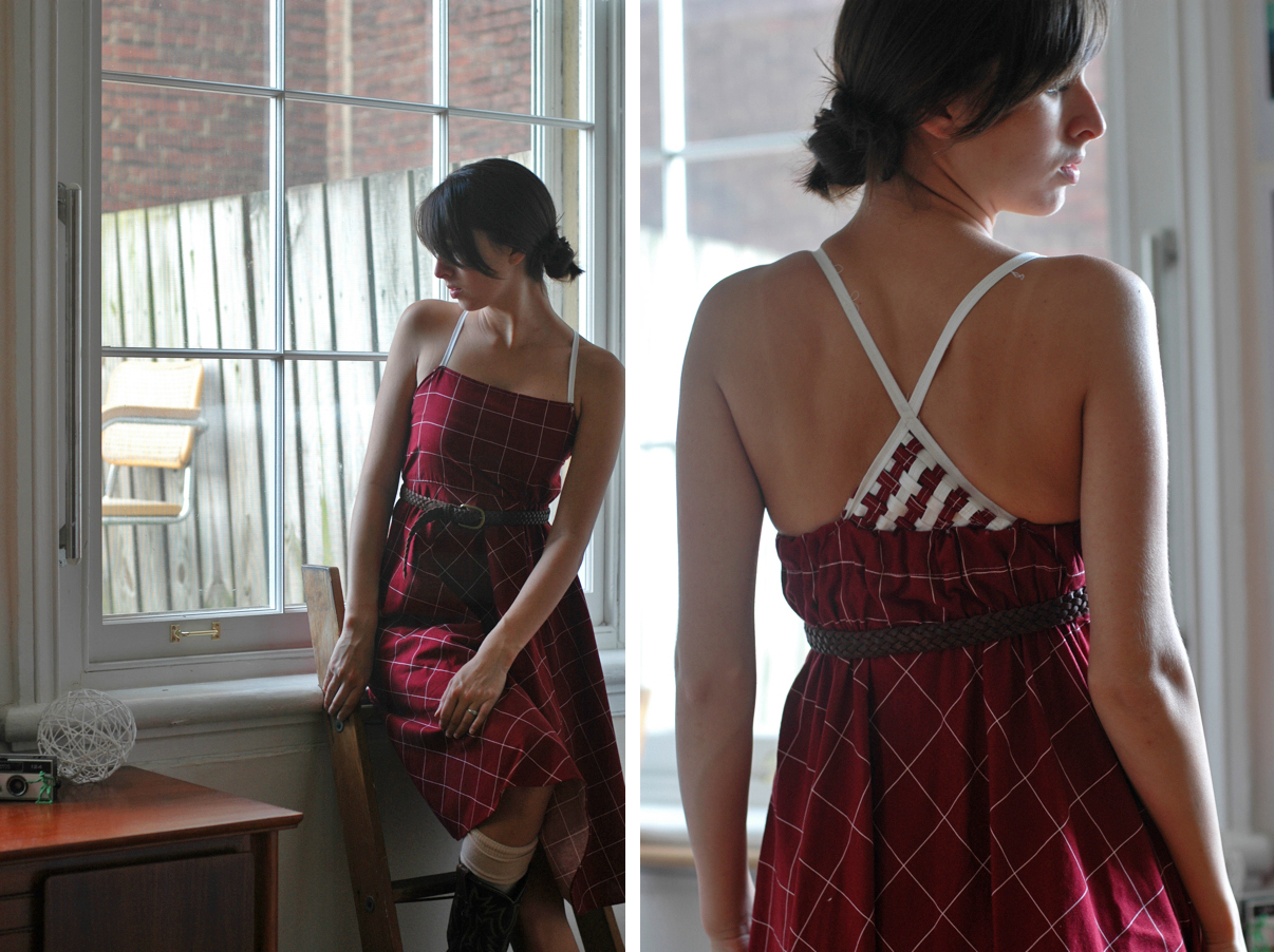 restyled vintage fall dress