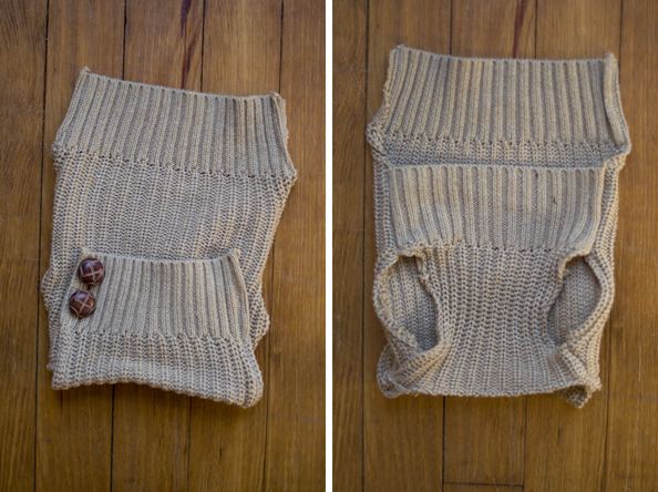 Fine and Feathered dog sweater